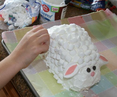 Easter Lamb Cake Recipe Celebrating Holidays