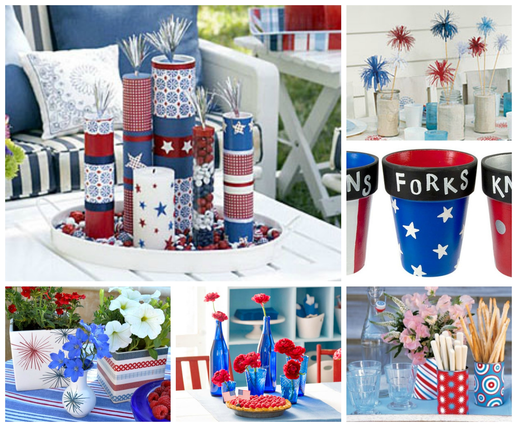 July 4th Diy Table Decorating