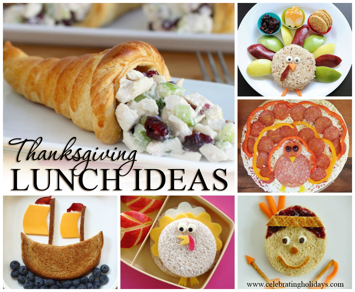 Thanksgiving Lunch Ideas And Recipes Celebrating Holidays