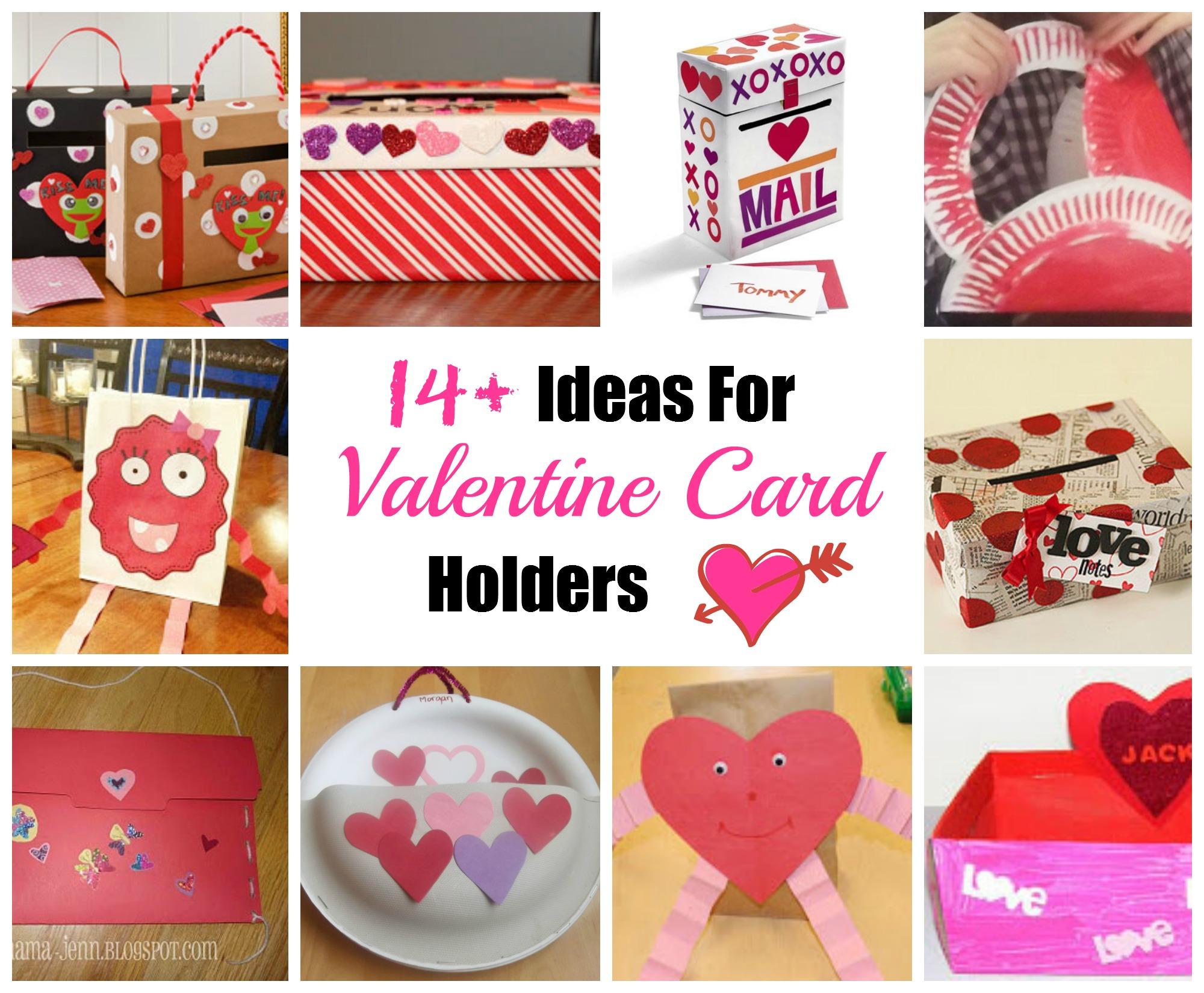 Valentine Card Holder Ideas Celebrating Holidays