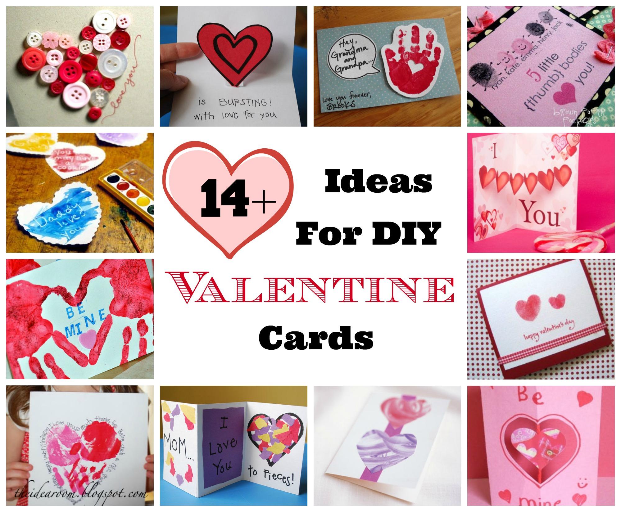 valentine's day diy homemade card ideas  celebrating holidays
